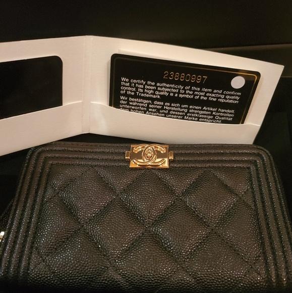 CHANEL Handbags - Chanel boy wallet
